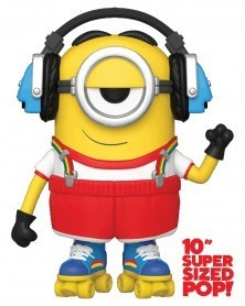 PREORDER! POP Movies - Minions: The Rise of Gru - Roller Skating Stuart (25cm)