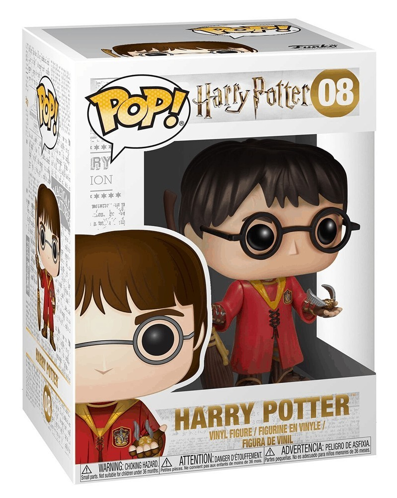 Funko POP Harry Potter - Harry Potter (Quidditch), caixa