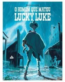O Homem Que Matou Lucky Luke, capa