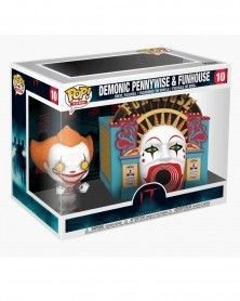 Funko POP Movies - IT 2 - Demonic Pennywise With Funhouse, caixa