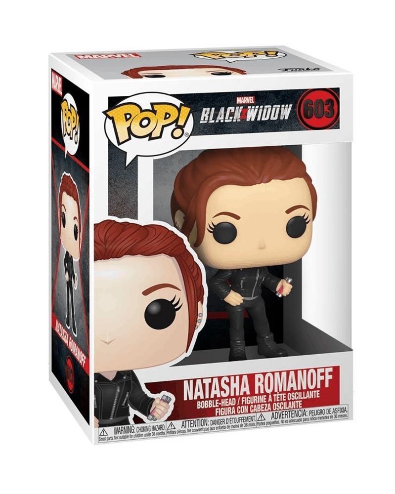 Funko POP Marvel - Black Widow - Natasha Romanoff, caixa