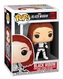 Funko POP Marvel - Black Widow - Black Widow (White Suit), caixa