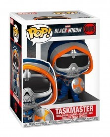 Funko POP Marvel - Black Widow - Taskmaster (with Shield), caixa