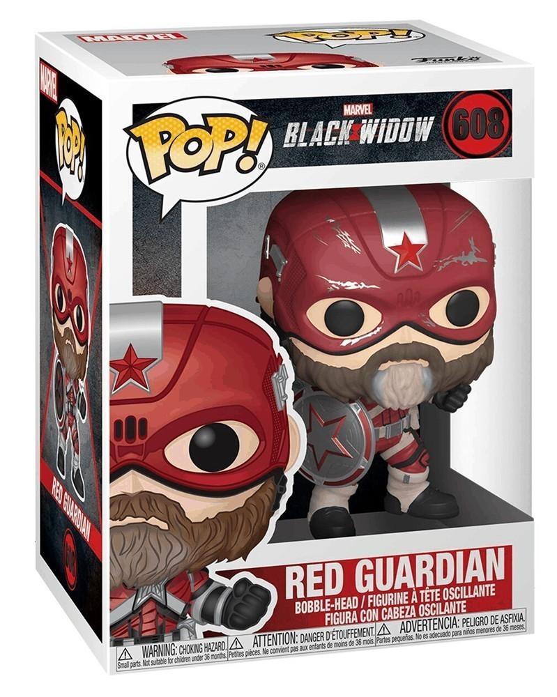 Funko POP Marvel - Black Widow - Red Guardian, caixa