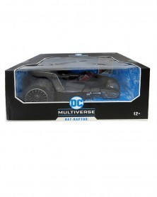 DC Multiverse - Bat-Raptor Batmobile (18cm),caixa