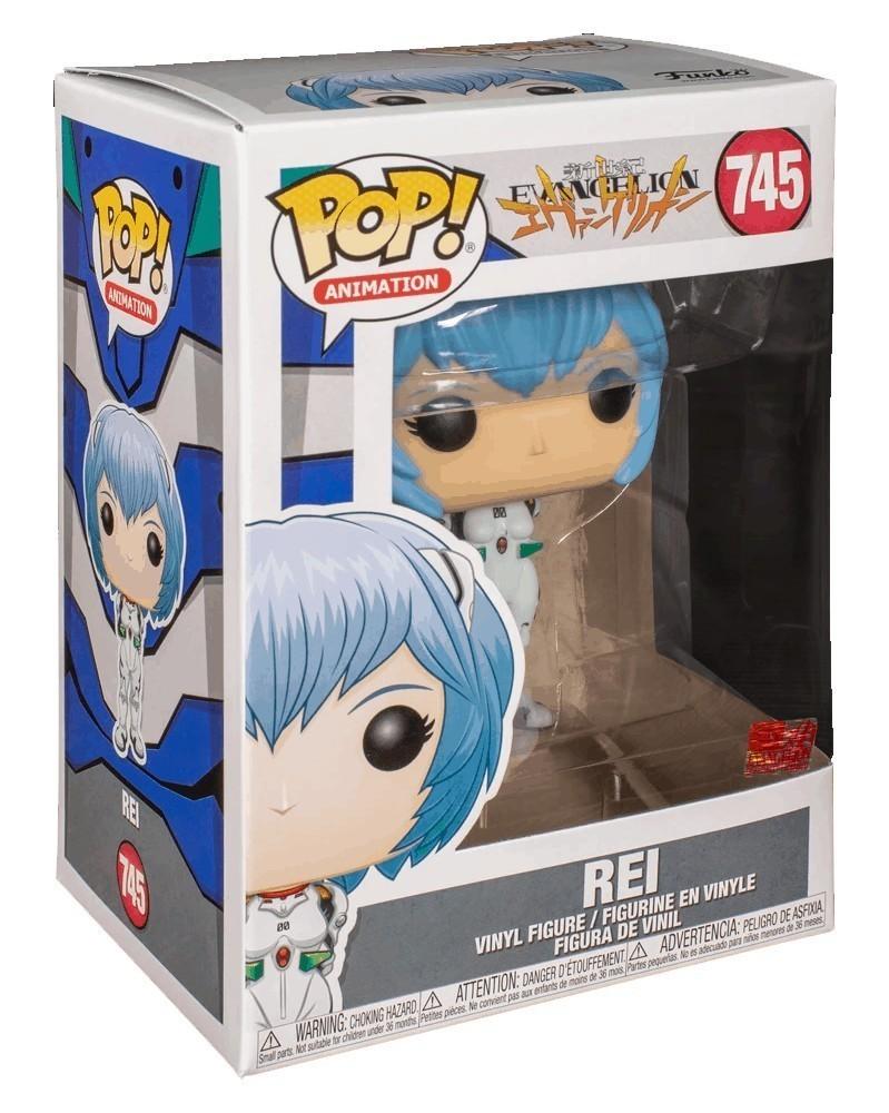 Funko POP Anime - Neon Genesis Evangelion - Rei Ayanami, caixa