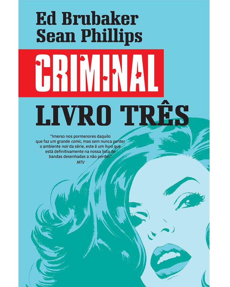 Criminal, Livro Três (Ed.Portuguesa, capa dura), capa