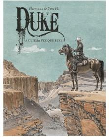 Duke Vol.4: A Última Vez Que Rezei (Hermann), capa