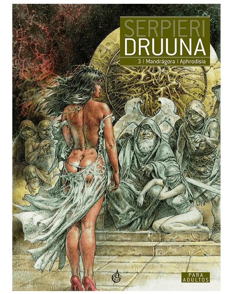 Druuna vol.3: Mandrágora/Aphrodisia  (Capa Dura), capa