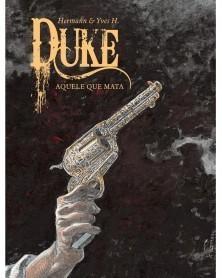 Duke Tomo 2: Aquele Que Mata (Hermann), capa