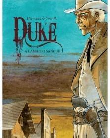 Duke Tomo 1: A Lama e O Sangue (Hermann), capa