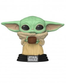 POP Star Wars - The Mandalorian - The Child (Baby Yoda) with Cup