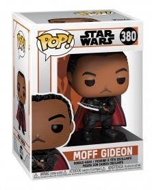 PREORDER! Funko POP Star Wars - The Mandalorian - Moff Gideon, caixa
