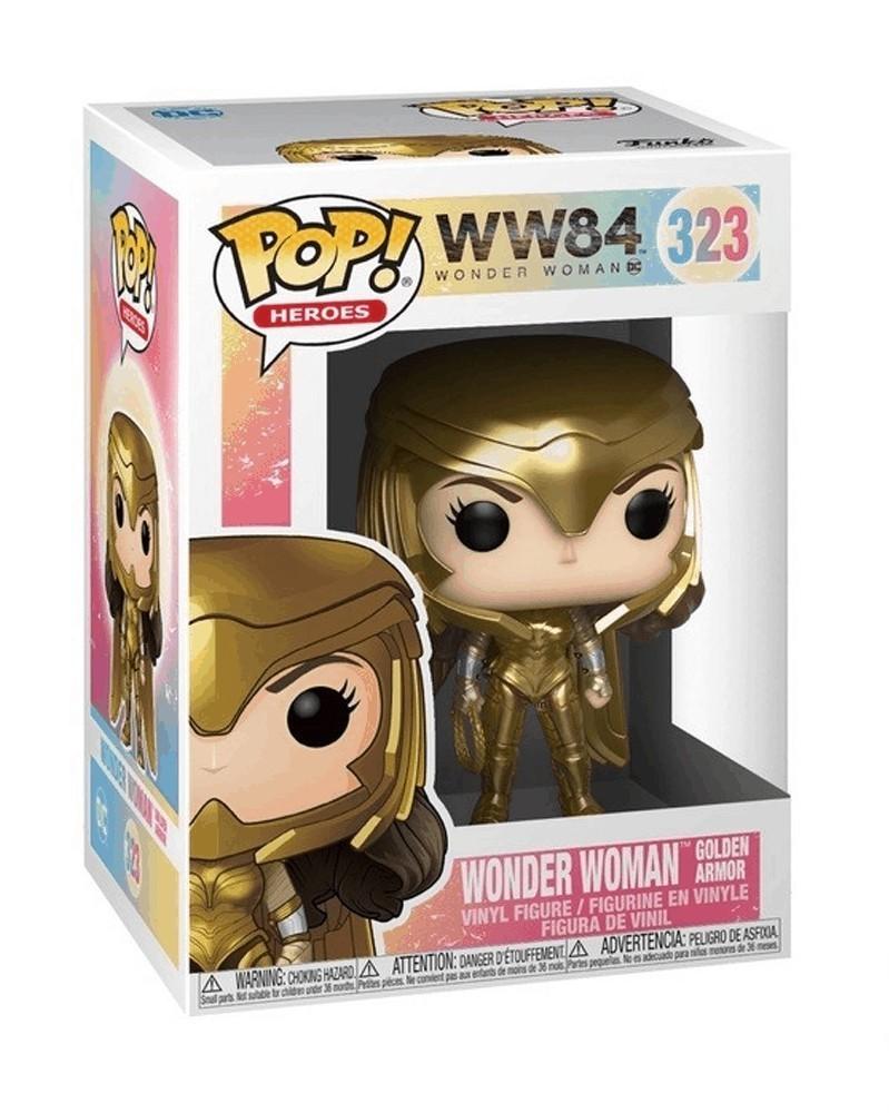 Funko POP Wonder Woman 1984 - Wonder Woman (Golden Armor), caixa
