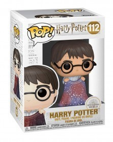 Funko POP Harry Potter - Harry with Invisibility Cloak, caixa
