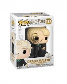 Funko POP Harry Potter - Draco Malfoy with Whip Spider, caixa