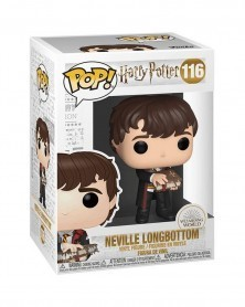 Funko POP Harry Potter - Neville Longbottom w/Monster Book, caixa