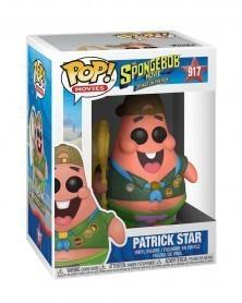 Funko POP Movies - The Spongebob Movie- Patrick Star w/Camping Gear, caixa