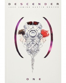 Descender Book 1 HC (Deluxe Ed.), capa