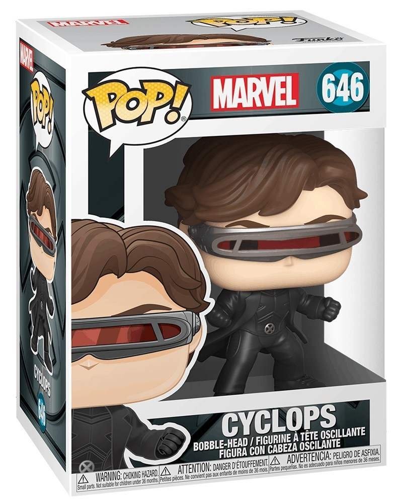 PREORDER! Funko POP Marvel - X-Men Movie 20th Anniversary - Cyclops, caixa