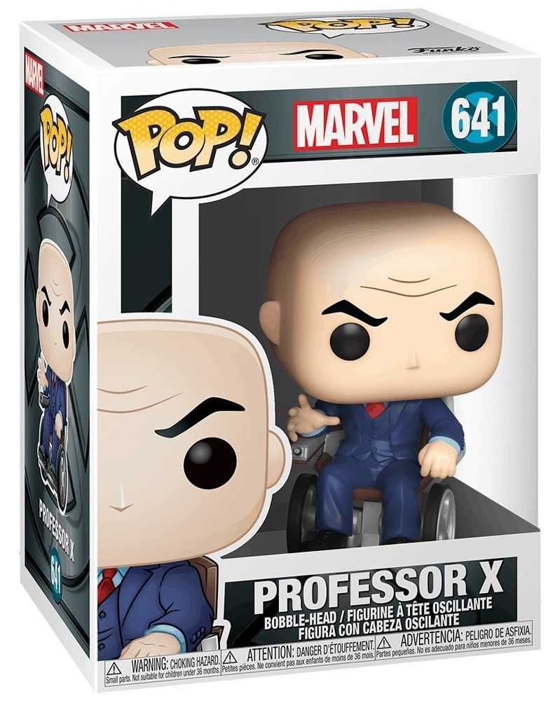 PREORDER! Funko POP Marvel - X-Men Movie 20th Anniversary - Professor X, caixa