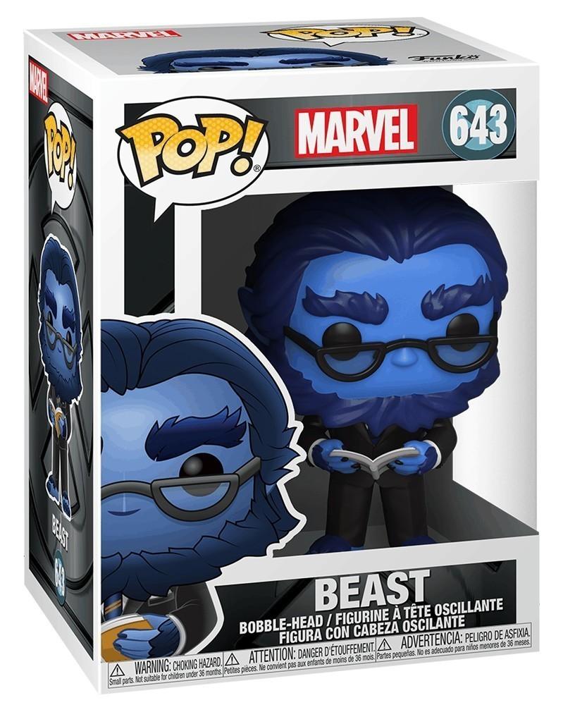 PREORDER! Funko POP Marvel - X-Men Movie 20th Anniversary - Beast, caixa