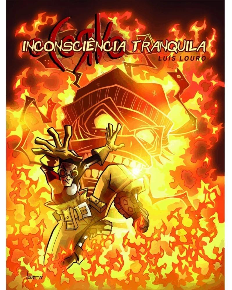 O Corvo 4: Inconsciência Tranquila (Luís Louro), capa