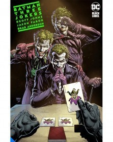 Batman: Three Jokers nº1 (de 3), de Geoff Johns & Jason Fabok, promo
