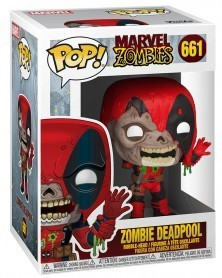 PREORDER! Funko POP Marvel - Marvel Zombies - Deadpool, caixa