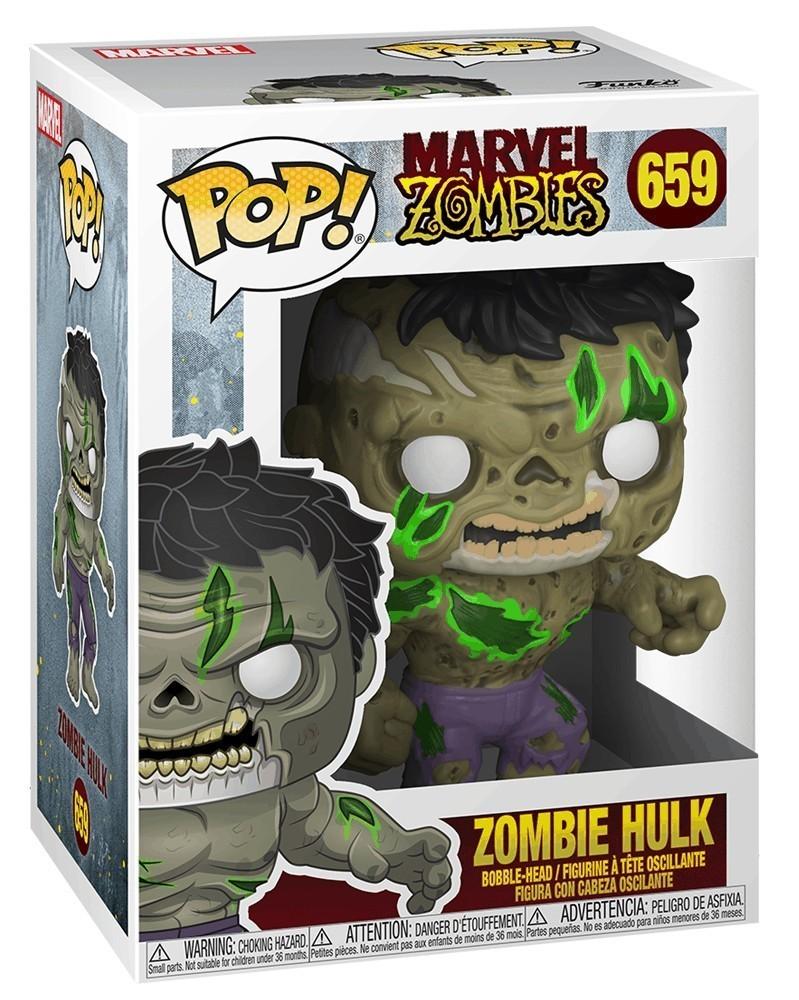 PREORDER! Funko POP Marvel - Marvel Zombies - Hulk, caixa