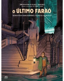 Blake e Mortimer: O Último Faraó (Ed.Portuguesa, capa dura), capa