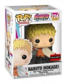 Funko POP Anime - Boruto - Naruto (Hokage), caixa