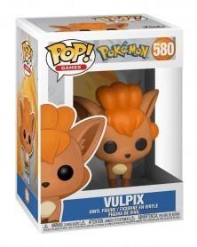Funko POP Games - Pokémon - Vulpix, caixa