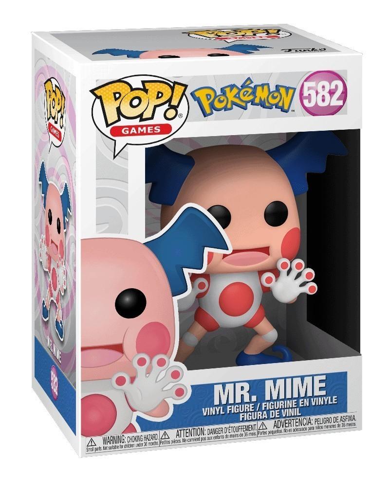 Funko POP Games - Pokémon - Mr. Mime, caixa