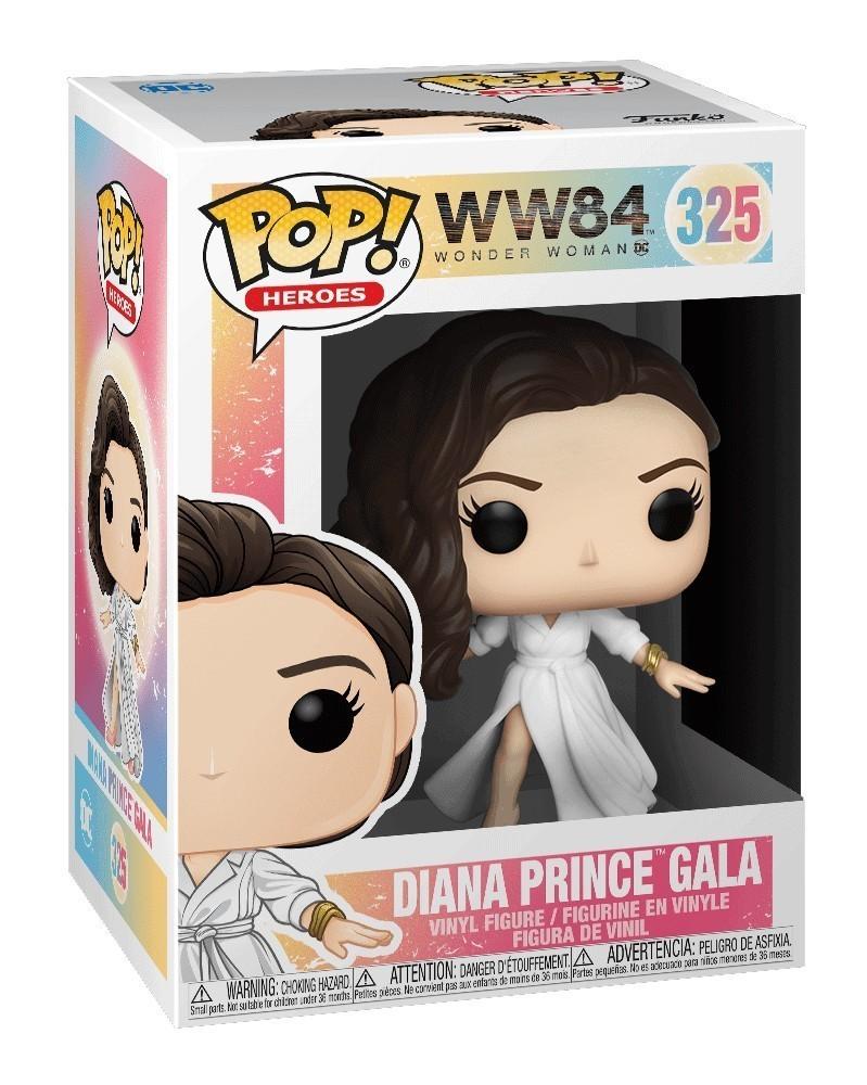 Funko POP Wonder Woman 1984 - Diana Prince Gala, caixa