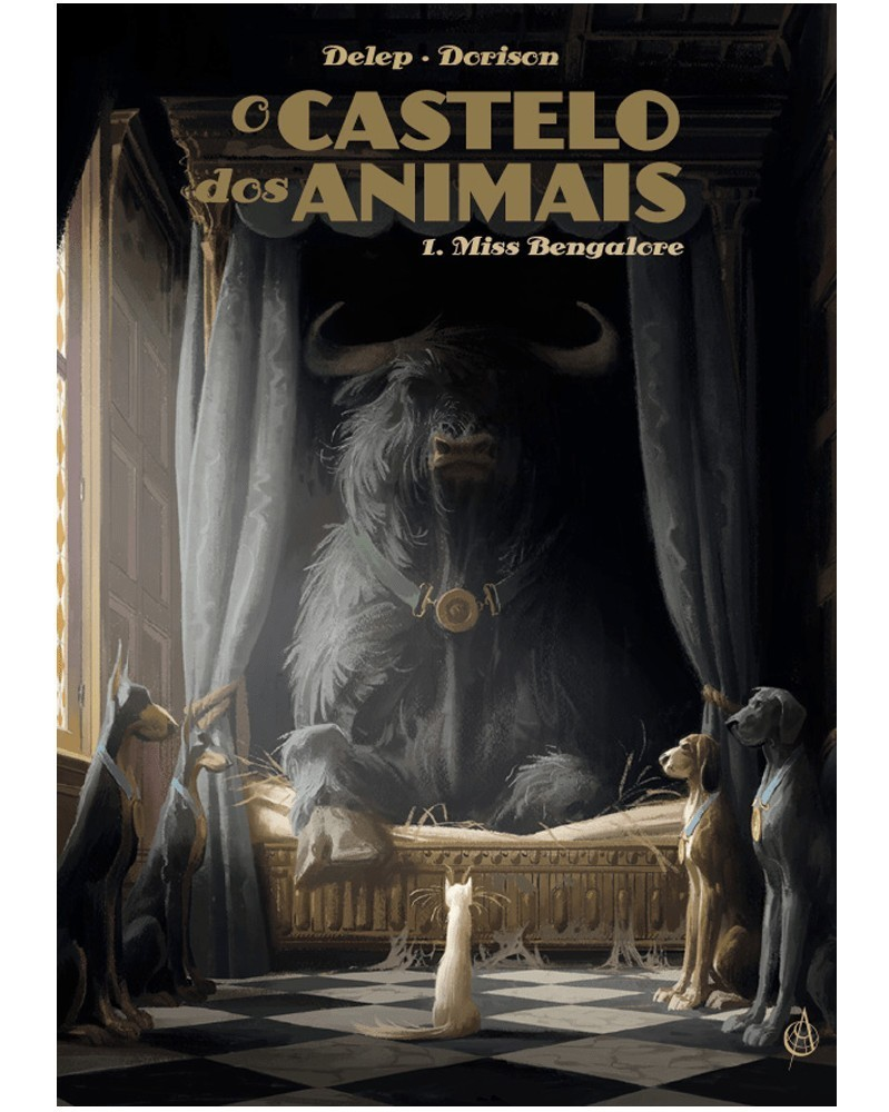 O Castelo dos Animais vol.1: Miss Bengalore (Delep/Dorison), capa