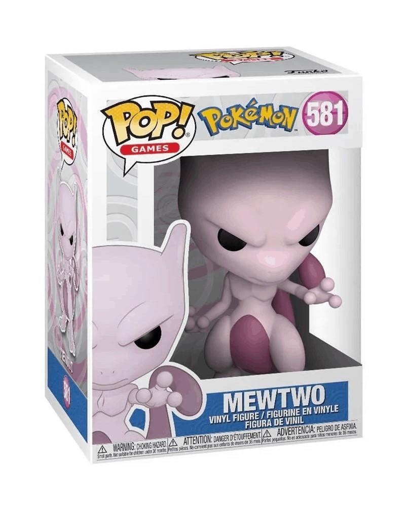 Funko POP Games - Pokémon - Mewtwo, caixa