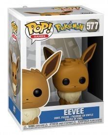 Funko POP Games - Pokémon - Eevee, caixa