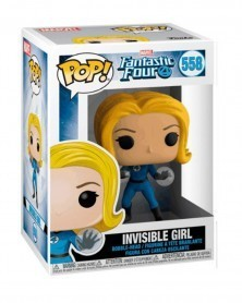 Funko POP Marvel - Fantastic Four - Invisible Woman, caixa