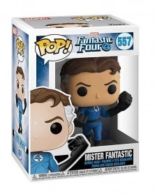 Funko POP Marvel - Fantastic Four - Mister Fantastic, caixa