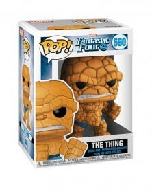 Funko POP Marvel - Fantastic Four - The Thing, caixa