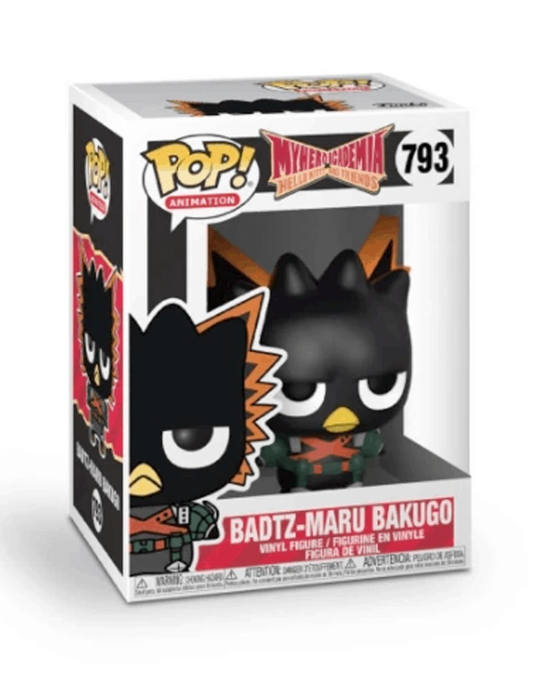 POP Anime - My Hero Academia/Hello Kitty & Friends - Badtz-Maru Bakugo, caixa