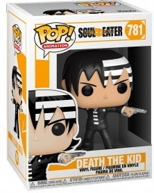Funko POP Anime - Soul Eater - Death The Kid, caixa