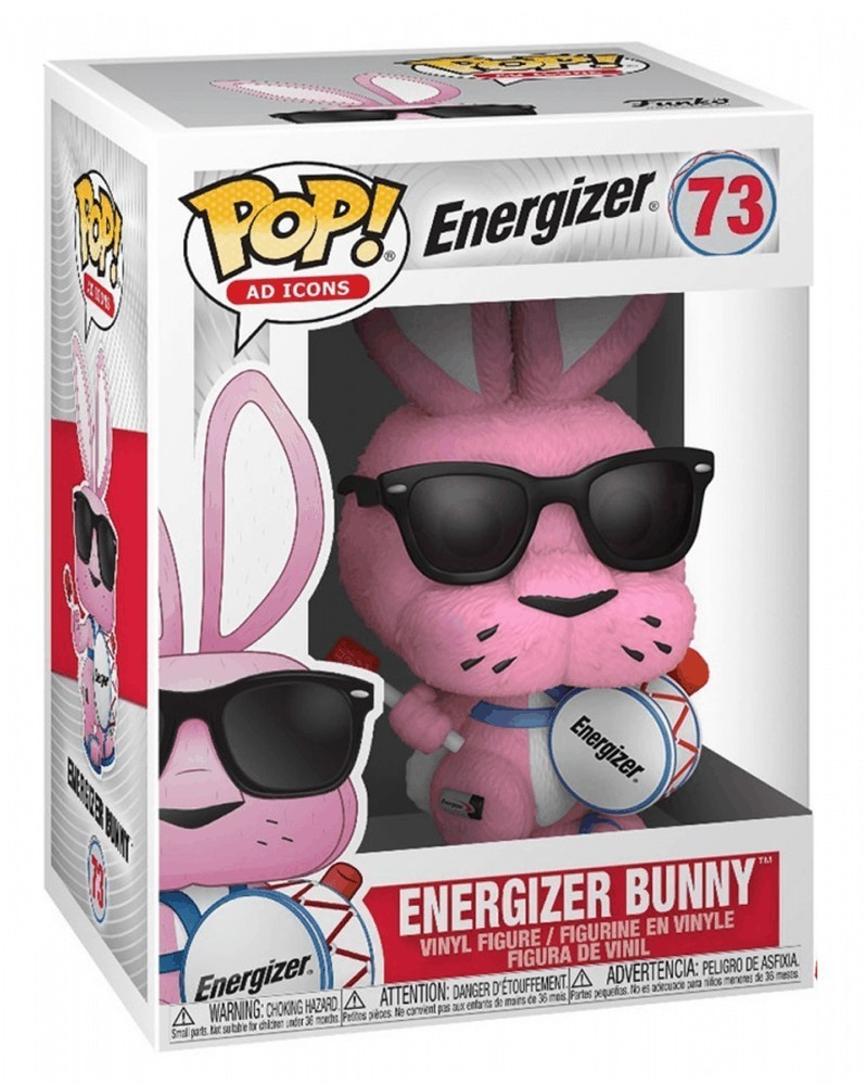 Funko POP Ad Icons - Energizer Bunny, caixa