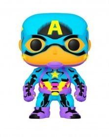 PREORDER! Funko POP Marvel - Captain America (Black Light)