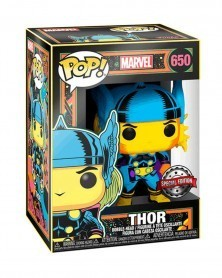 PREORDER! Funko POP Marvel - Thor (Black Light), caixa