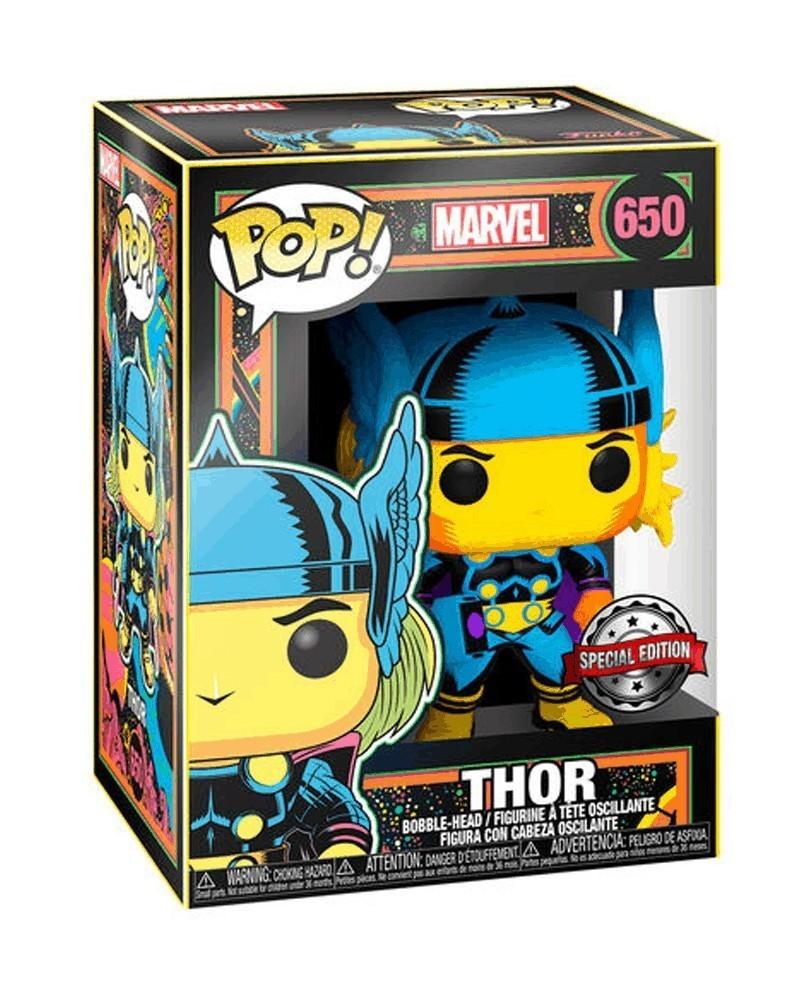 PREORDER! Funko POP Marvel - Thor (Black Light), caixa