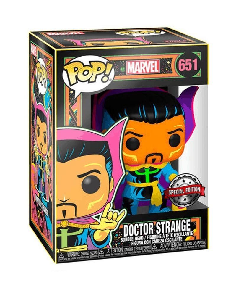 PREORDER! Funko POP Marvel - Iron Man (Black Light), caixa