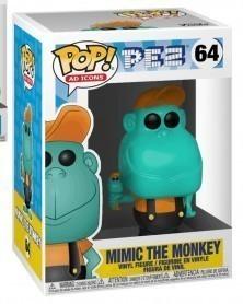 Funko POP Ad Icons - Pez - Mimic The Monkey, caixa