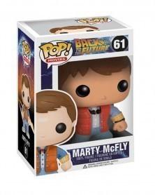 Funko POP Movies - Back To The Future - Marty McFly, caixa